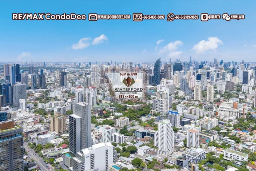Waterford Diamond Tower 1 - REMAX CondoDee