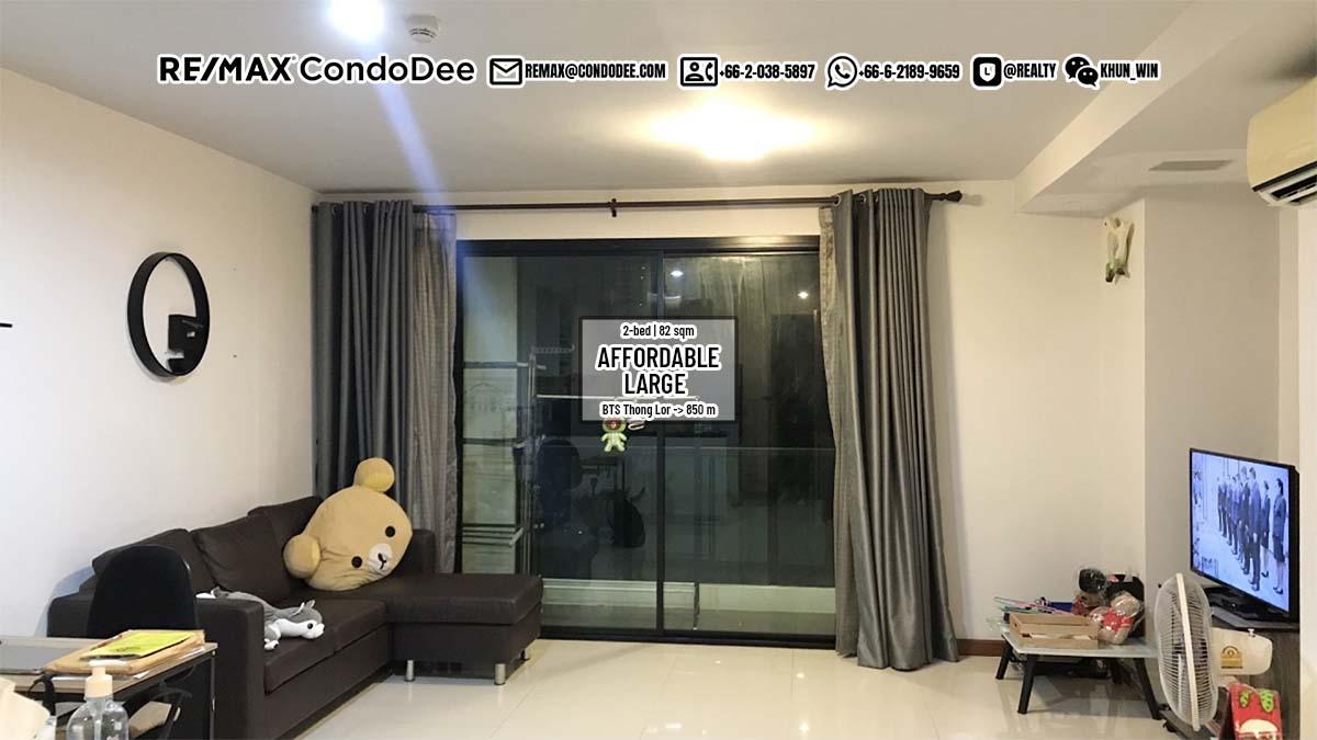 Large Bangkok Apartment Thonglor Sale – 2-Bedroom