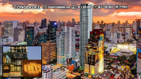 The Lofts Asoke - Luxury Bangkok Condo Near University, Near MRT, and Near Airport Rail Link
