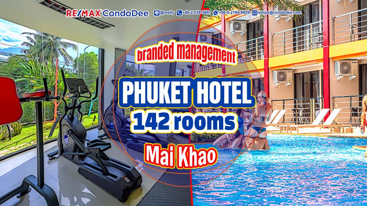 Phuket Hotel for sale - Mai Khao branded resort