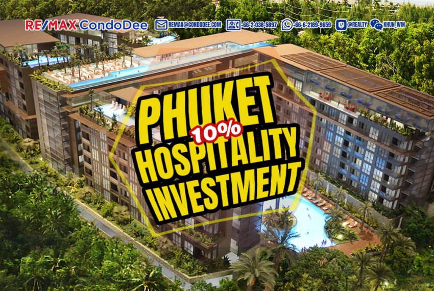 Phuket Hospitality Investment Deal - Building Near Beach with hotel license and hotel service