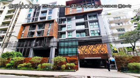 Rende Sukhumvit 23 Low-Rise Bangkok Condominium in Asoke Near Srinakharinwirot University