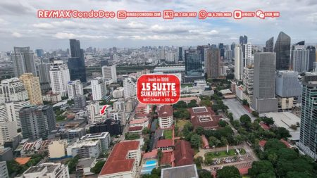 15 Suite Older Bangkok Condominium in Asoke Near NIST School and BTS