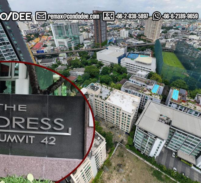 The Address Sukhumvit 42 Bngkok Condominium Near BTS Ekkamai