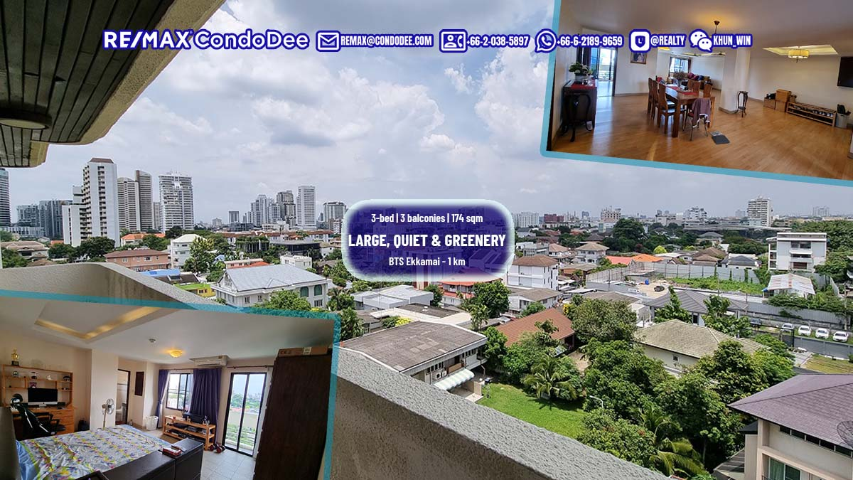 Large and cheap condo for sale in Ekkamai