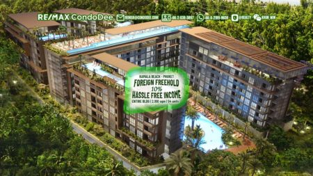 Phuket Hospitality Property Investment Deal - 10% ROI - Building Near Beach with hotel license and hotel service