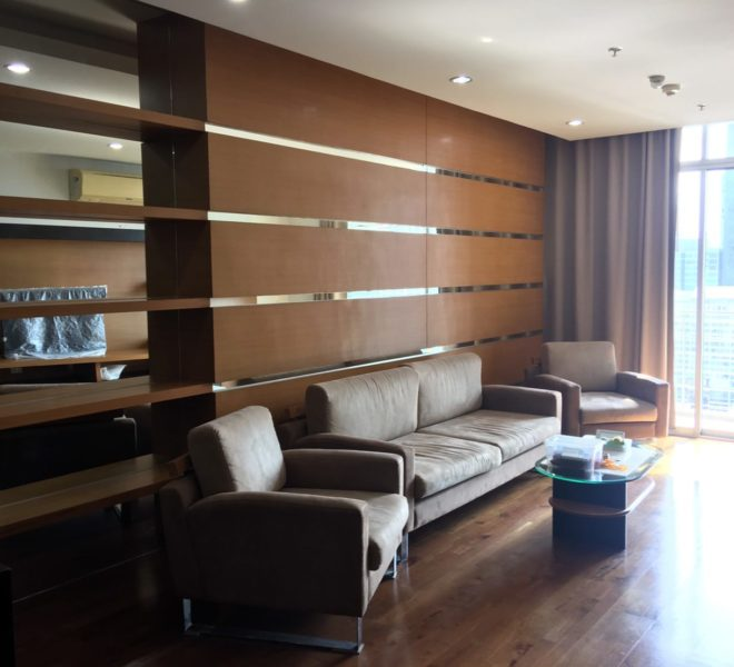 Apartment with a large balcony for sale - high floor - 3-bedroom - The Master Centrium Asoke-Sukhumvit
