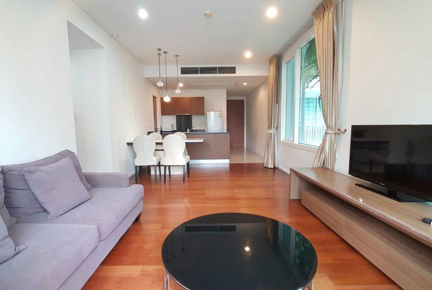 Wind Sukhumvit 23- RENT-2-bedroom-Low-Floor-living