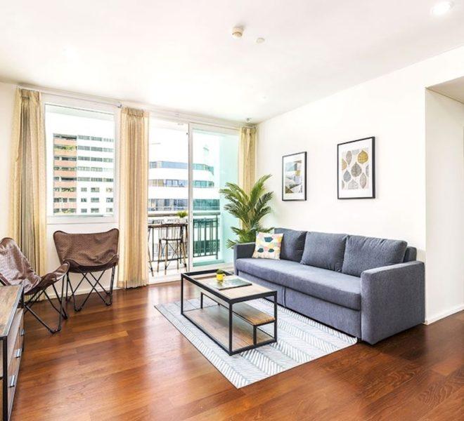 Apartment for sale near University in Asoke - 2-bedroom - corner unit - Wind Sukhumvit 23