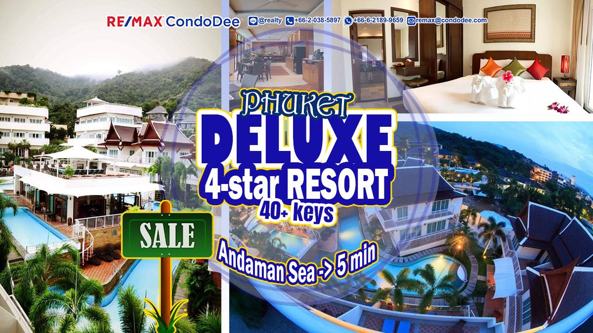 Phuket Resort For Sale – Andaman Sea – 40+ Keys