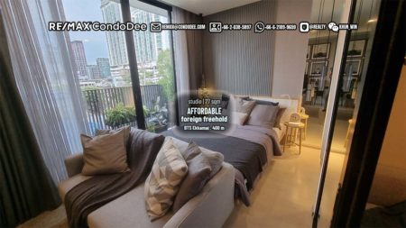 Cheap New Condo Bangkok CBD - 128K PSM Only! - BTS Ekkamai - Noble Ambience Sukhumvit 42