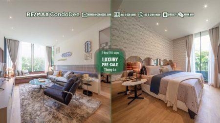 Bangkok luxury off-plan condo in Thonglor - 2-bedroom - Noble Form