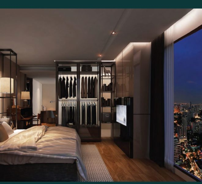 ashton-asoke-type-B-46sqm-bedroom