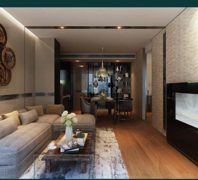 ashton-asoke-type-B-46sqm-living-room