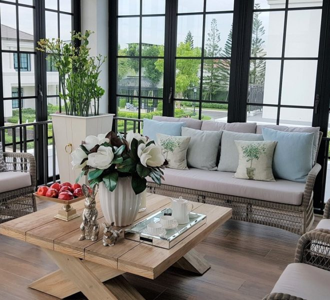House for sale in Baan Sansiri Pattanakarn - 4 bedroom - 4 balconies