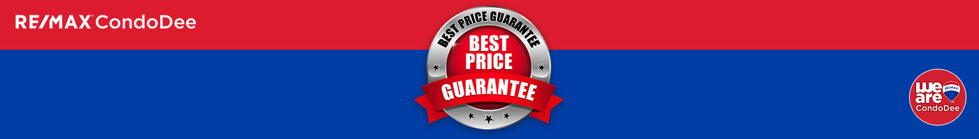 the best price guarantee by RE/MAX CondoDee