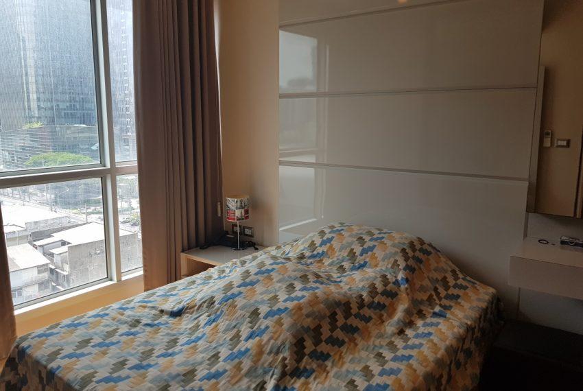 bedroomCheap flat for sale in Asoke near MRT - 1-bedroom - mid-floor - The Address Asoke condominium