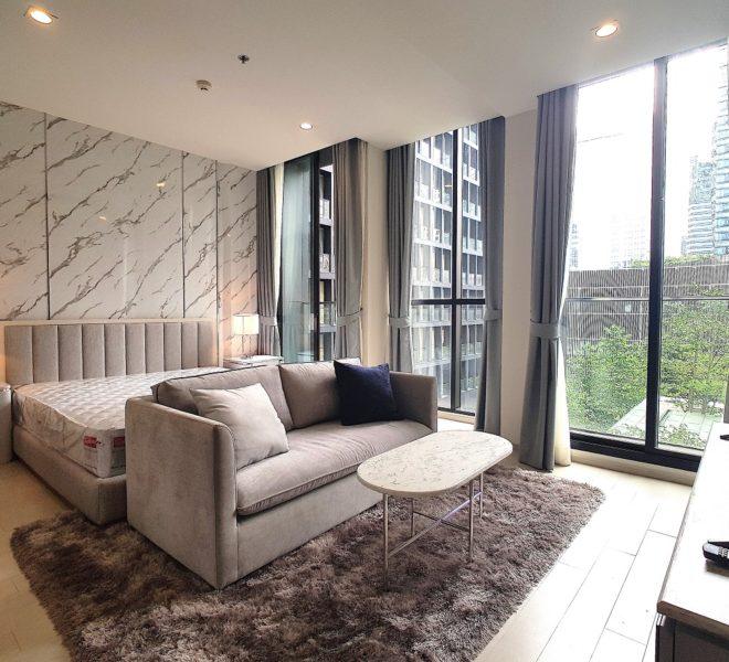 Condo for rent near Ploenchit BTS - 1-bedroom - low-floor - Noble Ploenchit