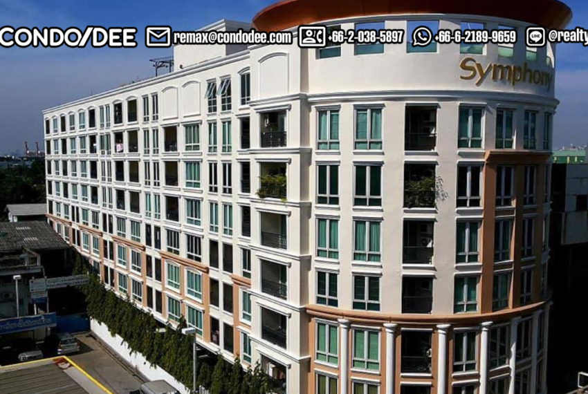 buildingSymphony SUkhumvit Condo near BTS Bangchak - entrANCE