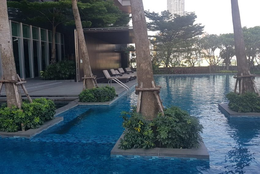 condo The Address Asoke - swimming pool large