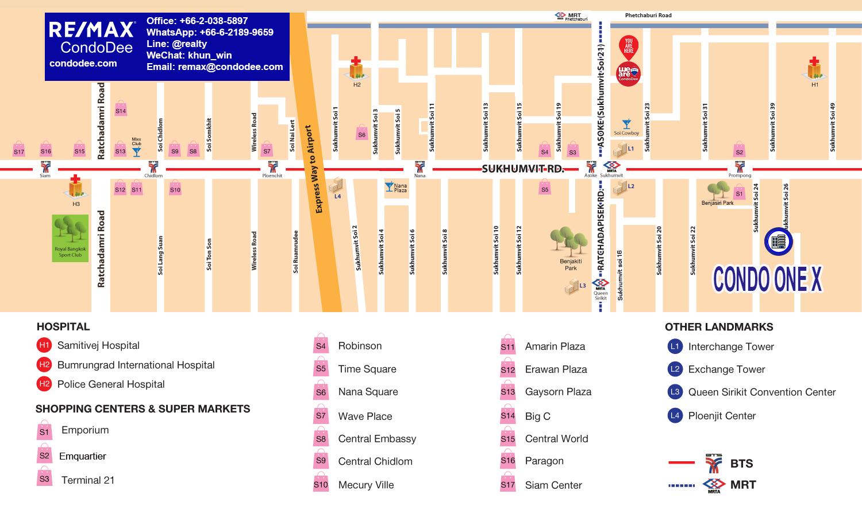 Condo One X Sukhumvit 26 – Apartment Near Phrom Phong BTS