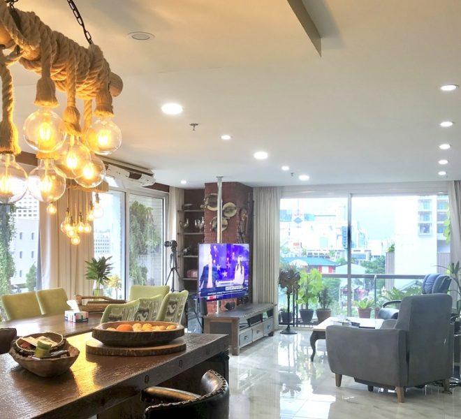 Sukhumvit condo for sale beautiful 2-bedroom - corner unit - Baan Prompong