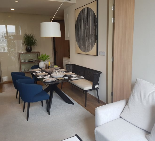 New 3-bedroom condo promotion - foreign quota - furnished - Noble Be33