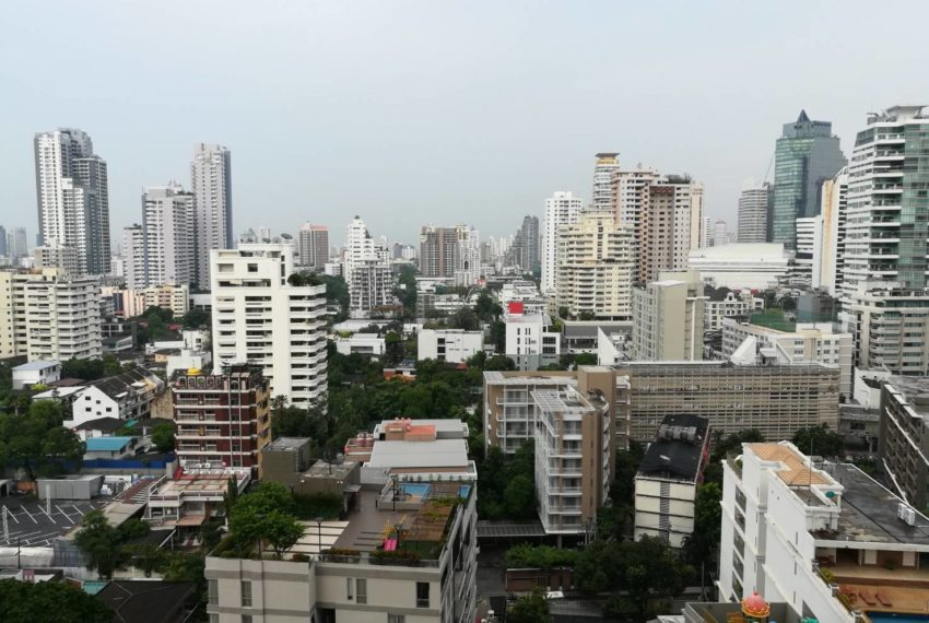 edge sukhumvit 23 mid floor for sale and rent - city view