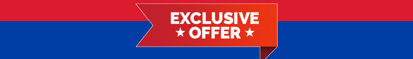 exclusive offer banner