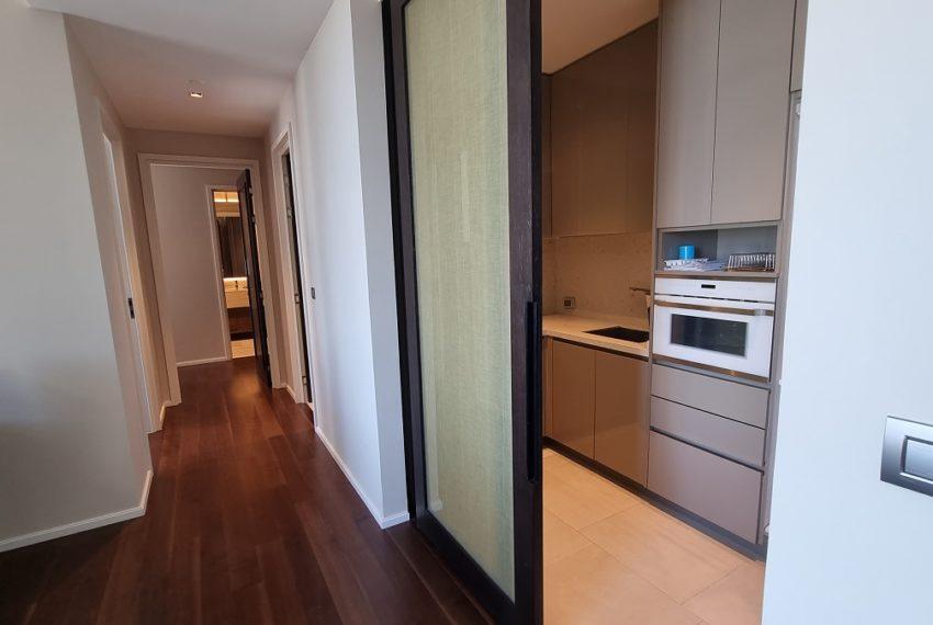 half separated kitchen