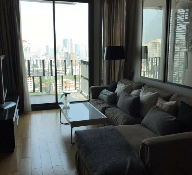 Condo for rent connected to BTS Thonglor - 2 bedroom - Keyne by Sansiri