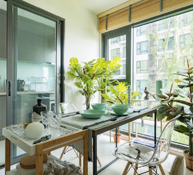 Flat for sale near BTS Thonglor - 1-bedroom - low-floor - Rhythm Sukhumvit 36-38