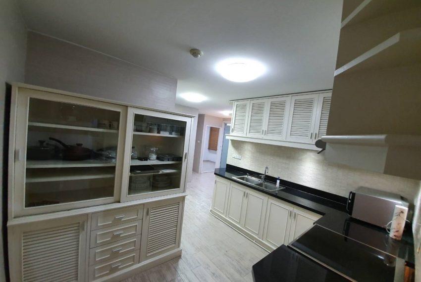 kitchen and maid area