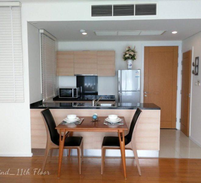 1 bedroom apartment for rent in Asoke - mid floor - Wind Sukhumvit 23 condominium