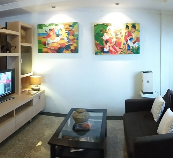 2-bedroom apartment for sale in Sukhumvit 13 - low floor - Beverly Tower