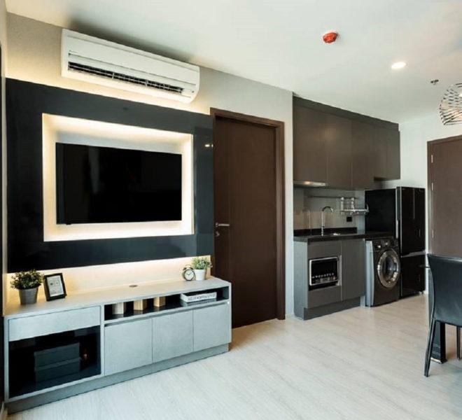 Nicely decorated condo for sale on a high-floor - 1-bedroom - Rhythm Asoke 1