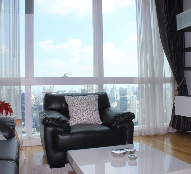Luxury condo for sale with tenant - 2 bedroom - high floor - Millennium Residence