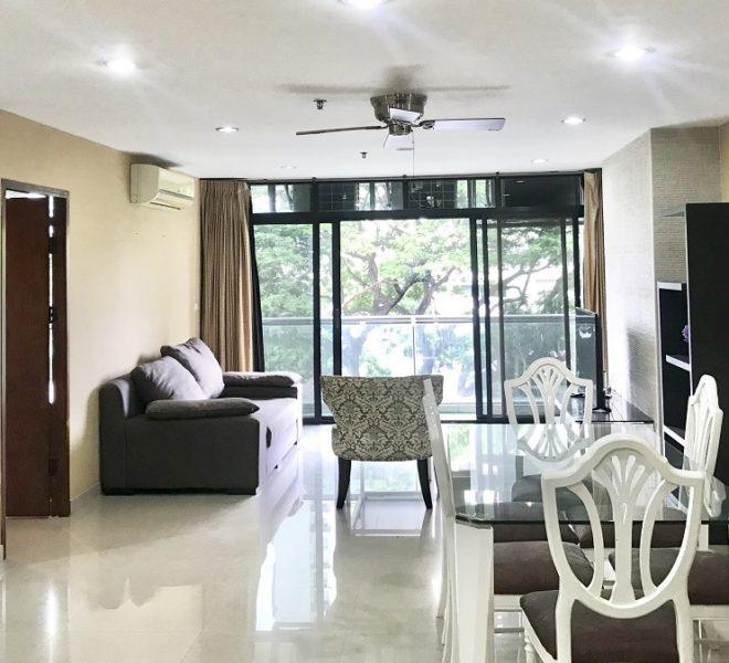 2-bedroom Bangkok condo for sale - low floor - Baan Prompong Sukhumvit 39