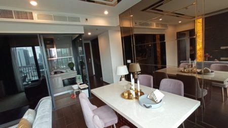 Modern condo in Ekkamai for sale - 2-bedroom - long balcony - C Ekkamai New Condominium