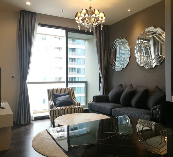 Luxury 2-bedroom apartment for rent - high floor - The XXXIX by Sansiri condominium