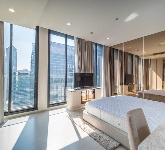 Large flat for rent near Ploenchit BTS - 2-bedroom - high-floor - Noble Ploenchit