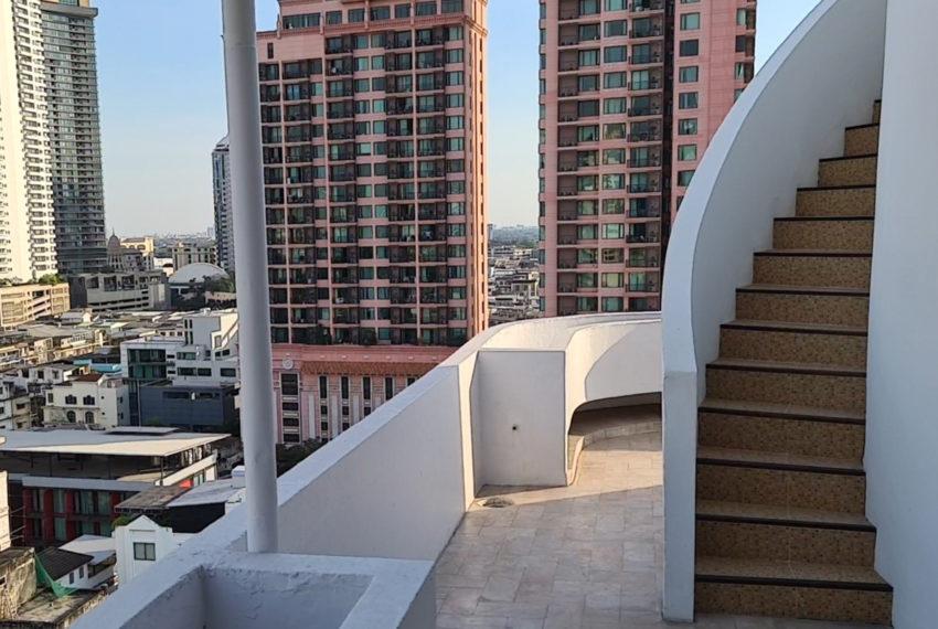 penthouse-duplex La Maison 22 - balcony 2 levels