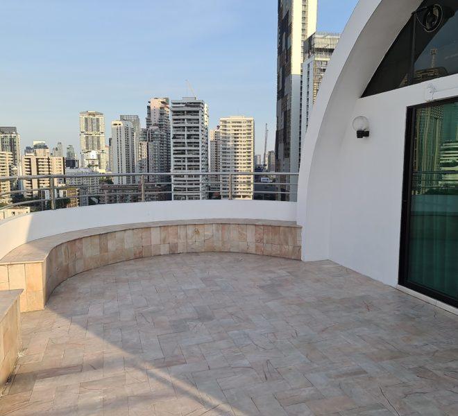 penthouse-duplex La Maison 22 - balcony 2nd floor