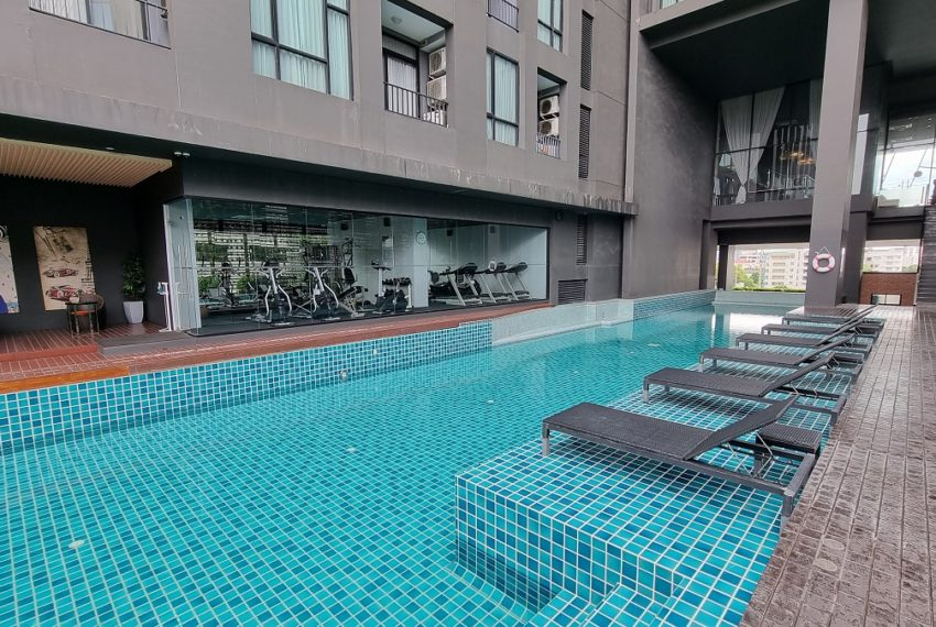 pool and fitness on 6 floor
