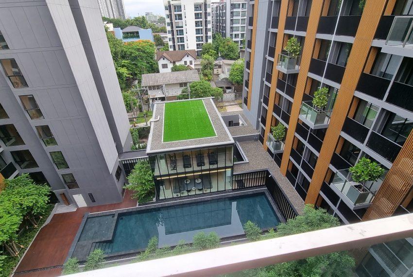 pool-view balcony