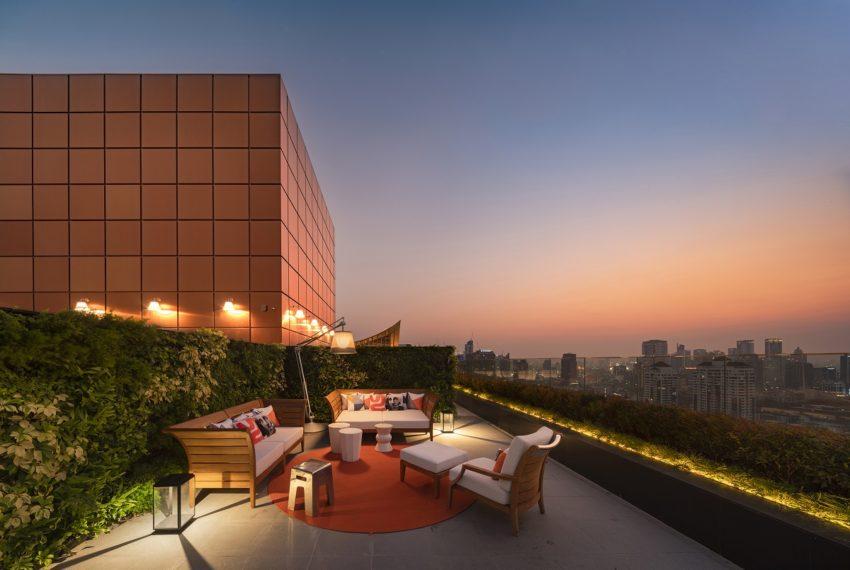 roof-top garden