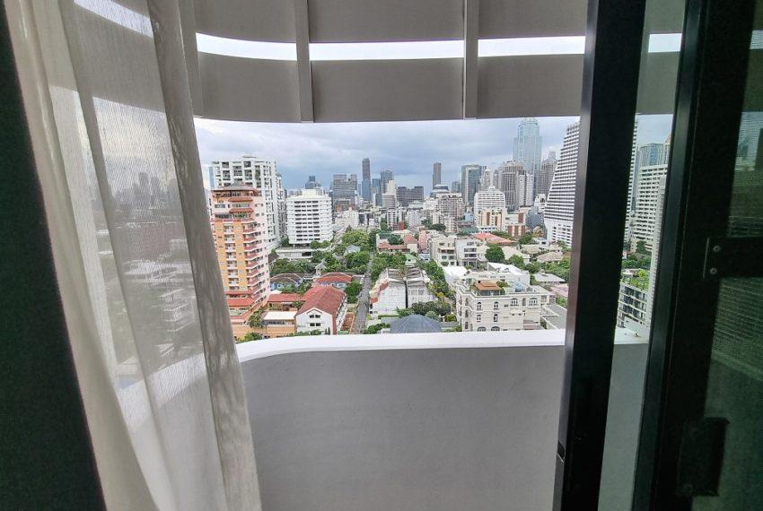 small balcony view