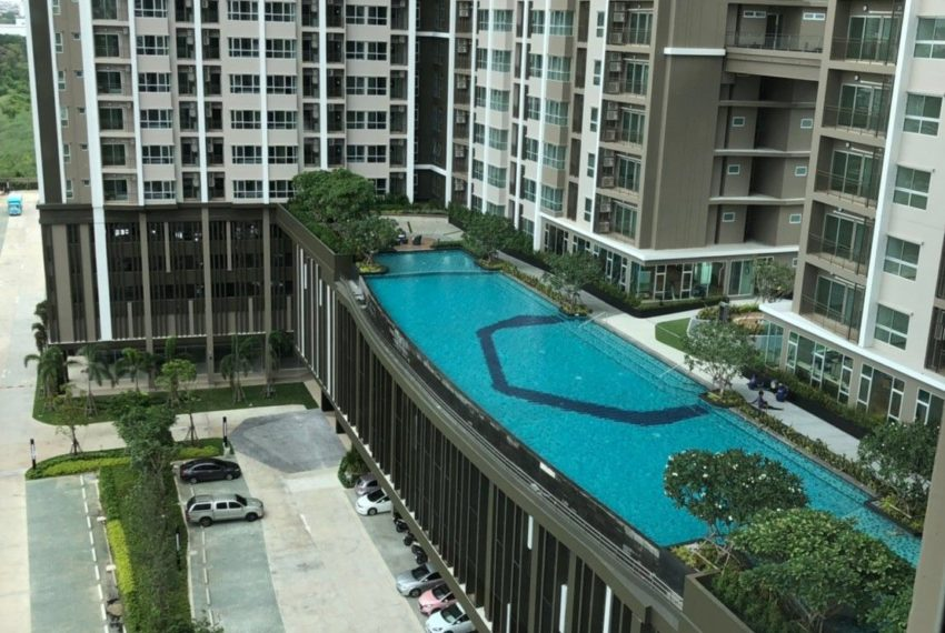 supalai-veranda-rama-9-drone-view