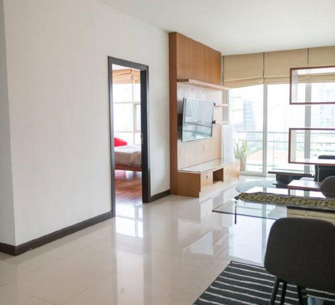 Condo in Nana for rent 2-bedroom - high floor - The Prime 11