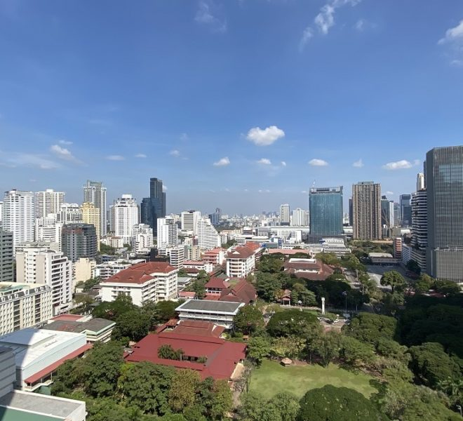 New condo with a greenery view for sale - high floor - 1-bedroom - Noble Recole